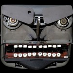 Angry typewriter