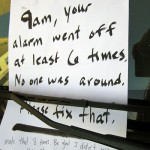 Car Alarm Notes -10