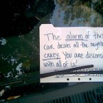 Car Alarm Notes -2