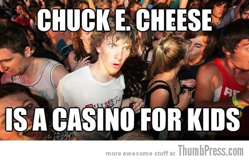 Chuck E Cheese Sudden Clarity Clarence   The Awkward Moment When You Realize That You Knew it All The Time
