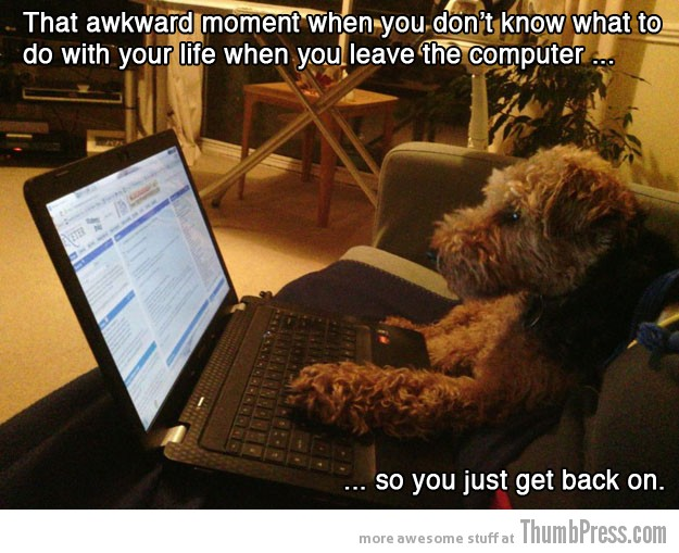 Computer 15 Absolutely Awkward Moments That You Can Relate To