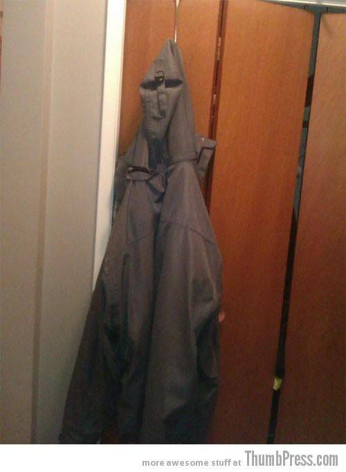 Creepy jacket is creepy