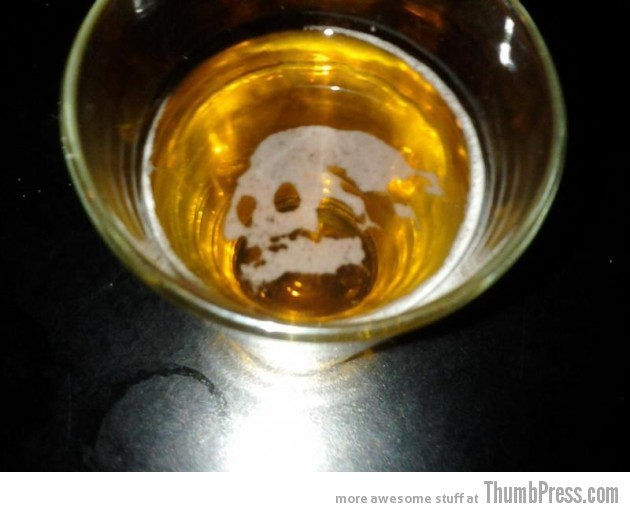 Deadly beer 630x512 Theyre watching you!!   Finding Weird Faces in Inanimate Objects