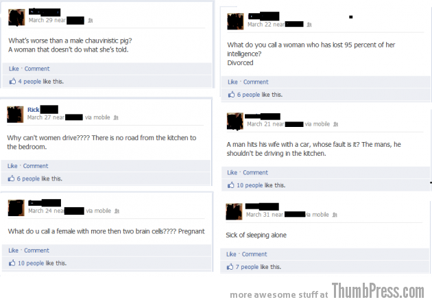 Facebook Fail 15 630x443 When Facebook Users Go Full Retard! (18 Pics)