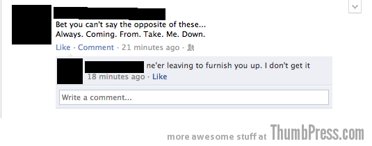 Facebook Fail 3 When Facebook Users Go Full Retard! (18 Pics)