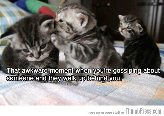 Gossiping 15 Absolutely Awkward Moments That You Can Relate To