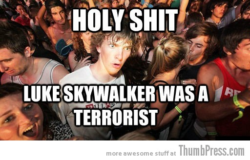 Luke Skywalker Sudden Clarity Clarence   The Awkward Moment When You Realize That You Knew it All The Time