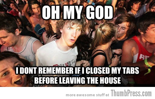 Oh my god Sudden Clarity Clarence   The Awkward Moment When You Realize That You Knew it All The Time