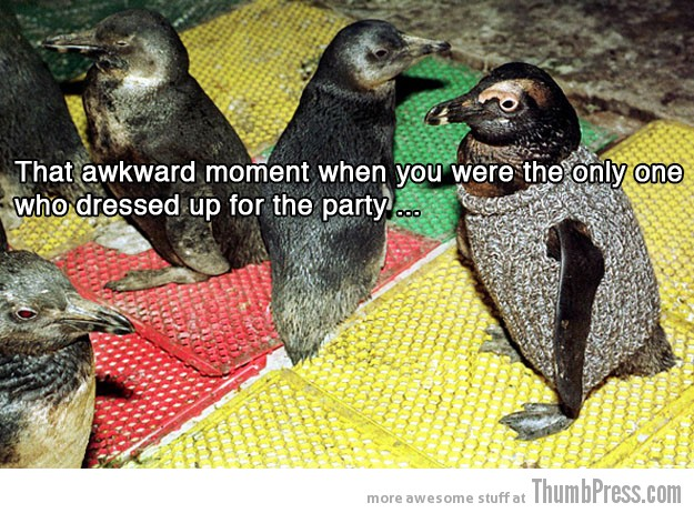 Party 15 Absolutely Awkward Moments That You Can Relate To