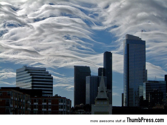 Amazing cloud formations 12