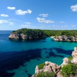 Blue waters of Menorca - Balearic island of Spain 1