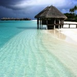 Clear water beaches of Maldives