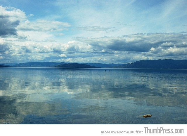 Flathead Lake in Montana 1