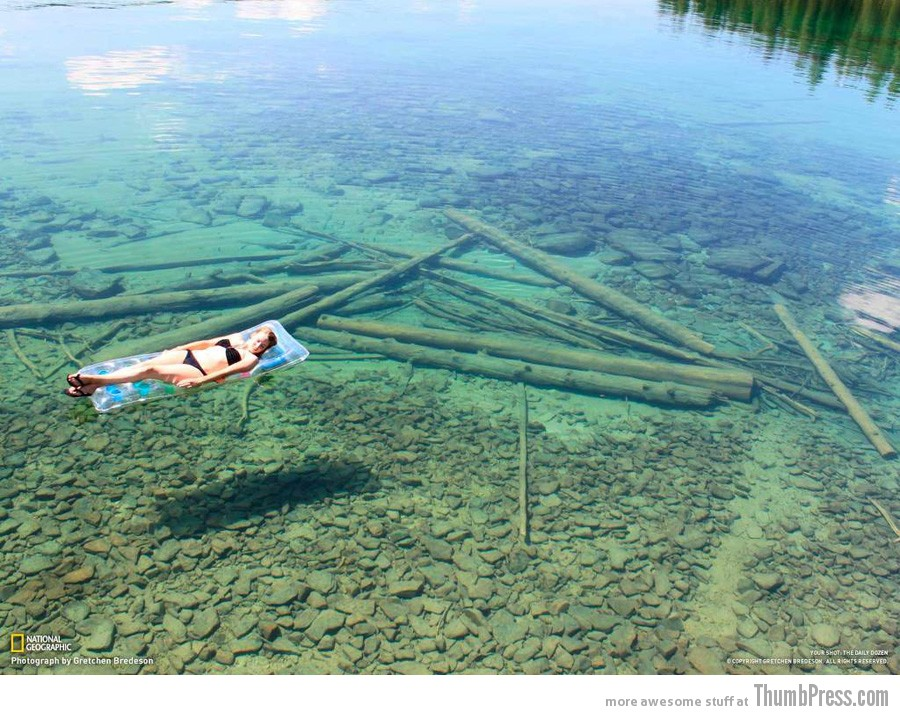 Flathead Lake in Montana