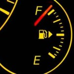Having a full tank of gas