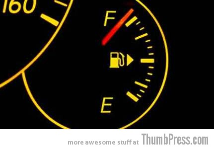 Having a full tank of gas Everyday Pleasures: 30 Little Things That Feel Real Good