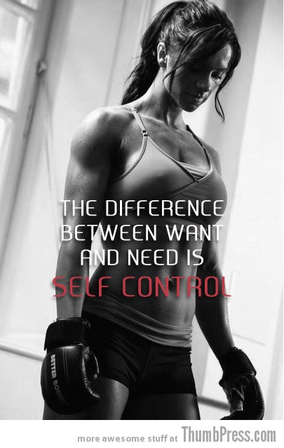 Self control Moving Motivation: 15 Inspirational Pictorial Quotes to Help You Start Exercising