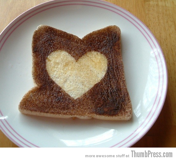 Toast Art 11 Artistic Toasts: 20 Pictures of Creatively Made Toast art