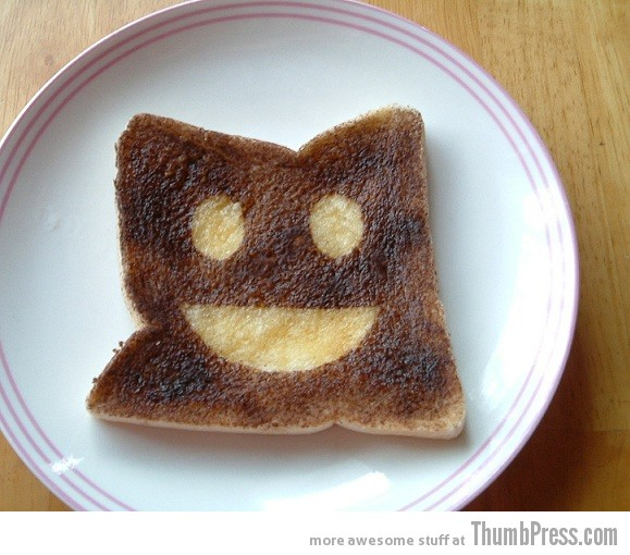 Toast Art 12 Artistic Toasts: 20 Pictures of Creatively Made Toast art