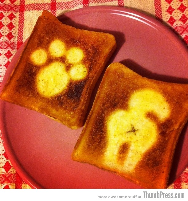 Toast Art 13 Artistic Toasts: 20 Pictures of Creatively Made Toast art