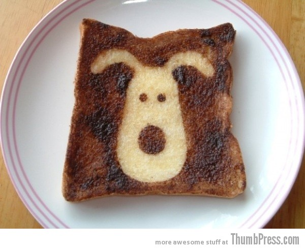 Toast Art 14 Artistic Toasts: 20 Pictures of Creatively Made Toast art