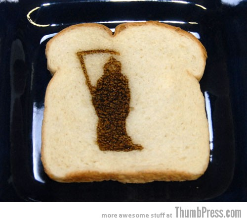 Toast Art 15 Artistic Toasts: 20 Pictures of Creatively Made Toast art