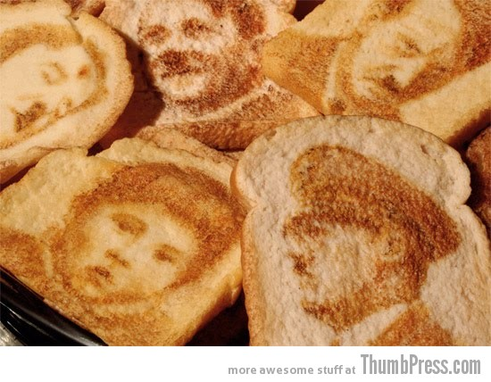 Toast Art 16 Artistic Toasts: 20 Pictures of Creatively Made Toast art