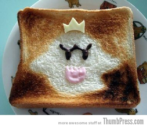 Toast Art 20 Artistic Toasts: 20 Pictures of Creatively Made Toast art