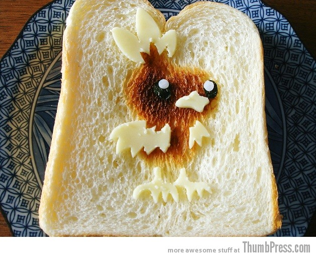 Toast Art 5 Artistic Toasts: 20 Pictures of Creatively Made Toast art