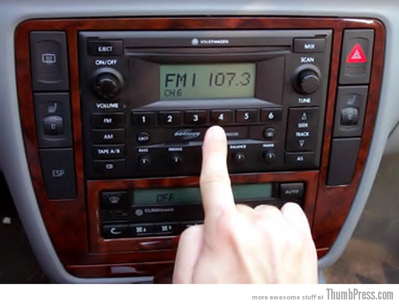 When good song starts to play right when you turn on the radio