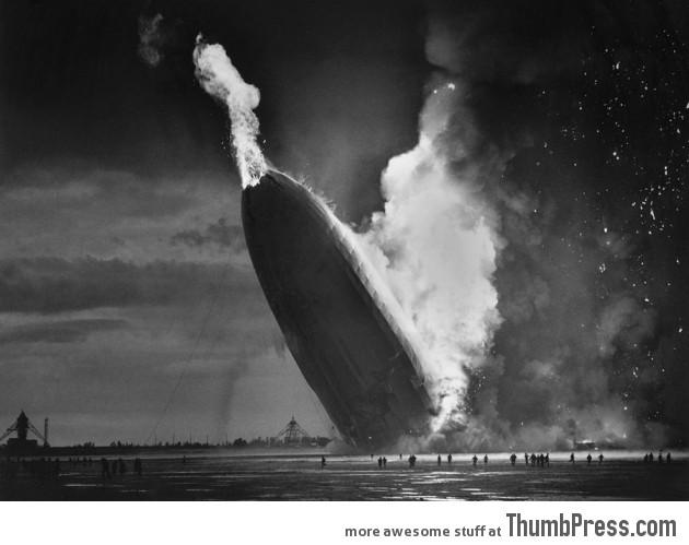 6. Hindenburg Blaze