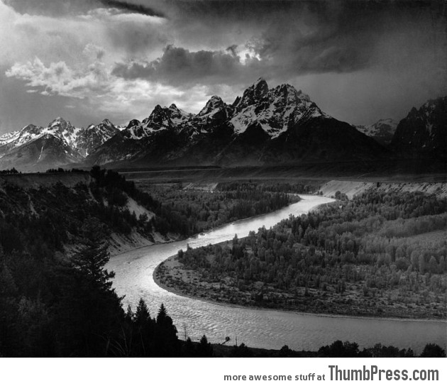 7. The Tetons and the Snake River