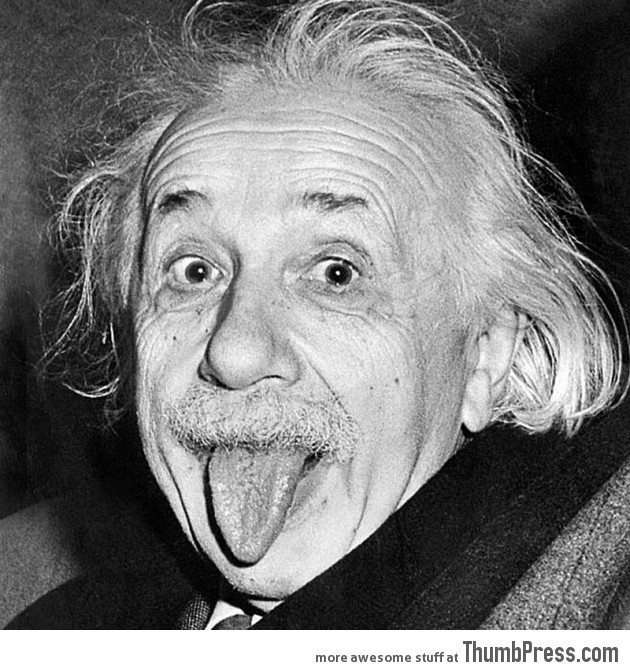 9. Einstein With His Tongue Out