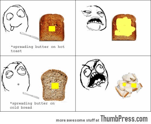 Buttering Bread Rage
