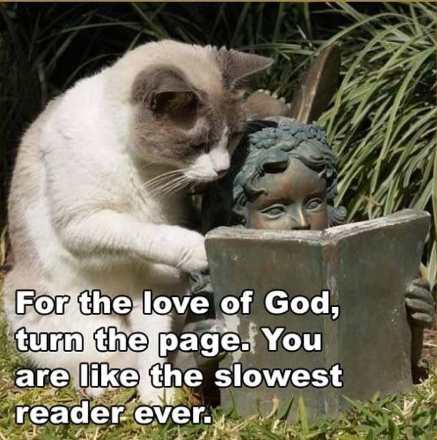 For the love of god turn the page