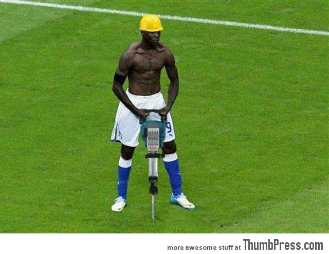 Mario Balotelli - The Photoshop Version - 12