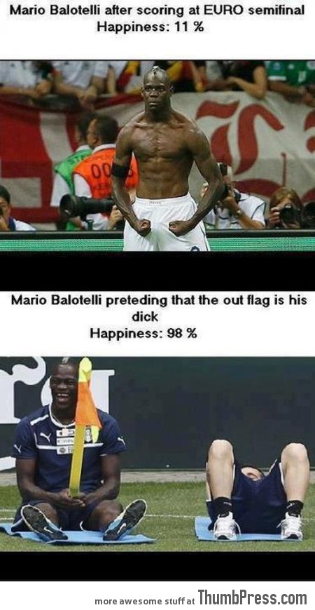 Mario Balotelli The Photoshop Version 5 Mario Balotelli   25 Of The Most Funniest Photoshops