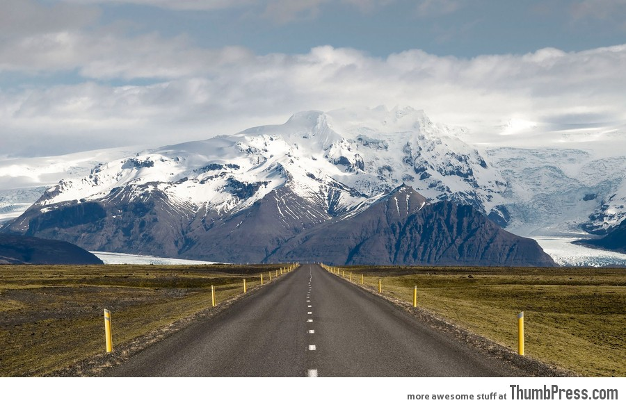 Ringroad in Iceland