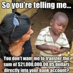 Skeptical Third World Kid Meme - 18