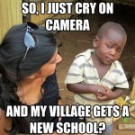 Skeptical Third World Kid Meme - 2