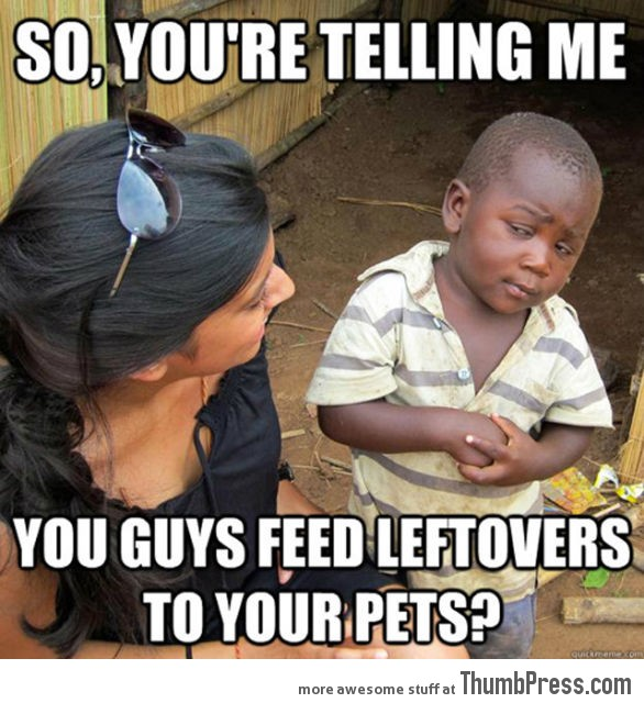 Skeptical Third World Kid Meme - 27