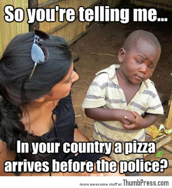 Skeptical Third World Kid Meme - 35