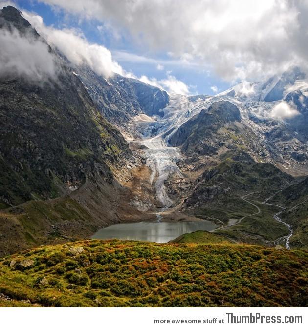 Steingletscher glacier - Switzerland