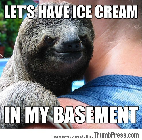 Suspiciously Evil Sloth 21 Different Animal Memes: When Animals Unlock Level Awesome