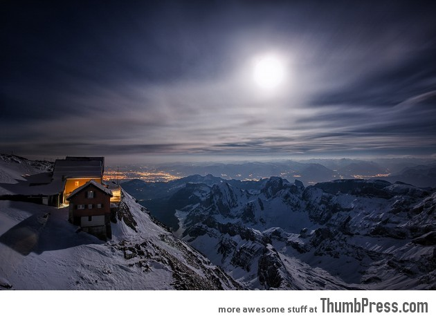 The old mountain station - Switzerland