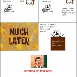 Vote for cereal guy