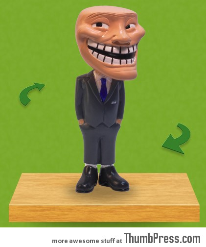 troll face figurine Trollface Figurine: Get a Figurine to Perfect Your Troll Pranks