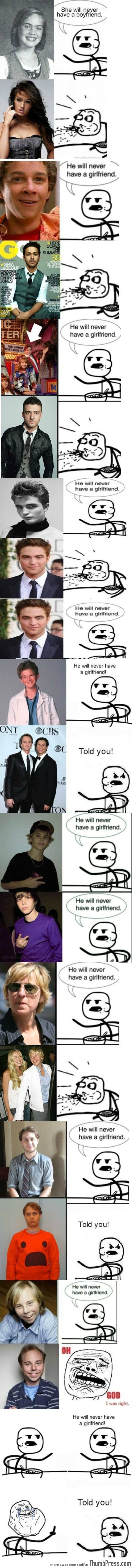z Cereal guy's predictions