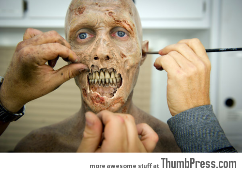 Becoming a zombie