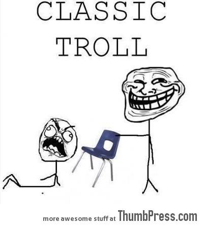 Classic troll